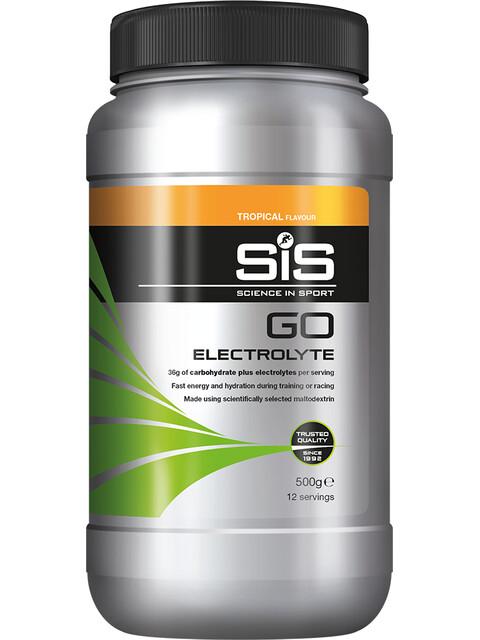 SiS GO Electrolyte Sportvoeding met basisprijs Tropical 500g